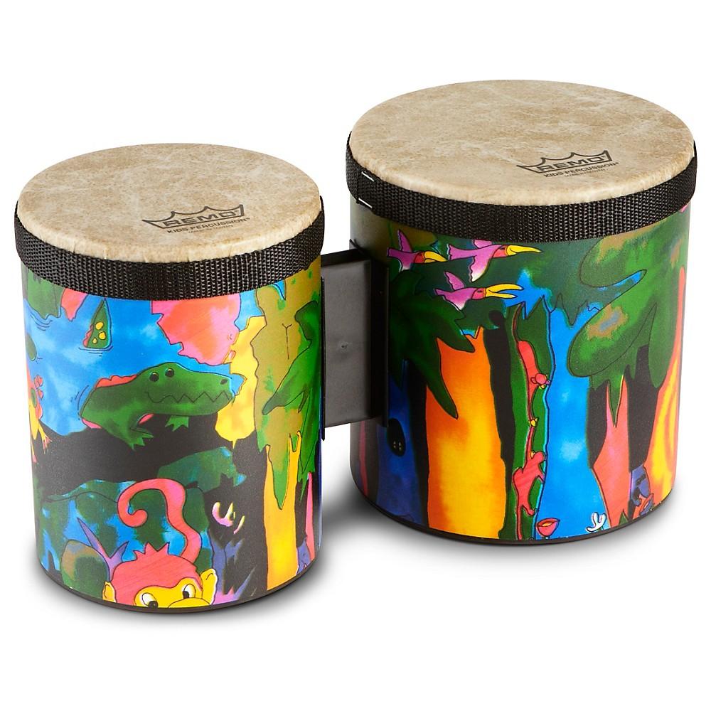 Remo Kid's Percussion Rain Forest Bongos 1274034491729