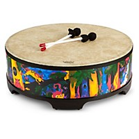 Remo Kid's Percussion Rain Forest Gathering Drum  22 X 7-1/2 In.