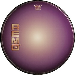 Remo Graphic Heads Purple Sunburst Resonant Bass Drum Head  22 In.