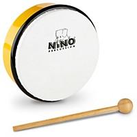 Nino Hand Drum With Beater Yellow 6 In.
