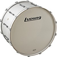 Ludwig Le-Cb Bass Drum White  ...