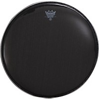 Remo Black Max Crimped Marching Snare Drum Head Ebony 14 In.