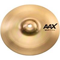 Sabian Aax Splash Cymbal Brilliant 8 In.