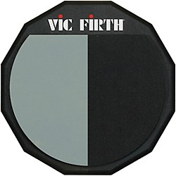Vic Firth Single-Sided/Divided Practice Pad  12 In.