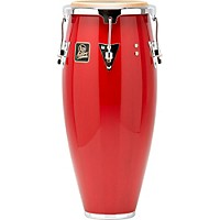 Lp Aspire Wood Conga Chrome Hardware 10 In. Quinto Red Wood