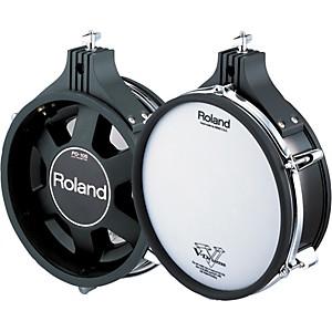 Roland Dual-Trigger Mesh V-Pad Black 10 In.