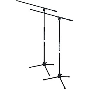 On-Stage Stands Tripod Mic Stand With Boom