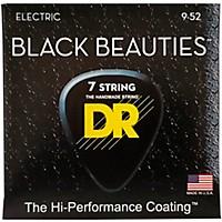 Dr Strings Extra Life Bke7-9 Black Beauties  ...