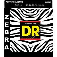 Dr Strings Zebra Acoustic-Electric Medium  ...