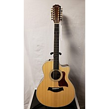 Taylor 456ce Spring Limited 12 String Acoustic Electric Guitar
