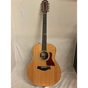 used taylor 458e 12 string acoustic electric guitar natural guitar center. Black Bedroom Furniture Sets. Home Design Ideas