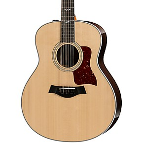 taylor 458e r grand orchestra 12 string acoustic electric guitar natural guitar center. Black Bedroom Furniture Sets. Home Design Ideas