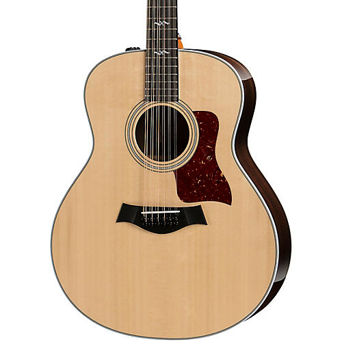 taylor 458e r grand orchestra 12 string acoustic electric guitar natural guitar center. Black Bedroom Furniture Sets. Home Design Ideas