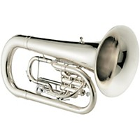 Jupiter 466 Series Convertible 3-Valve Marching Euphonium 446S Silver