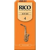 Rico Alto Saxophone Reeds Strength 4 Box Of  ...