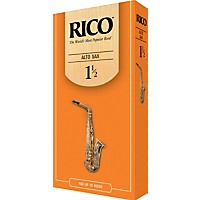 Rico Alto Saxophone Reeds Strength 1.5 Box  ...