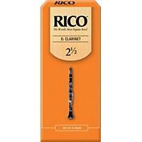 Rico Eb Clarinet Reeds, Box Of 25 Strength  ...