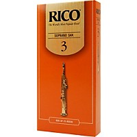 Rico Soprano Saxophone Reeds Strength 3 Box  ...