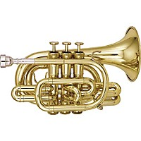 Kanstul 905 Series Bb Pocket Trumpet 905-2 Silver
