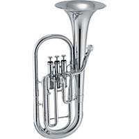Jupiter 456 Series Eb Alto Horn 456S Silver