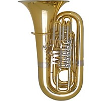 Miraphone 191 Series 5/4 Bbb Tuba 191-5V Gold Brass 5 Valves Nickel Silver Slides