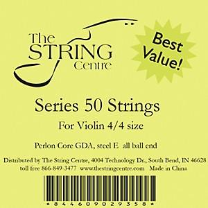 The String Centre Series 50 Violin String Set 3/4 Size
