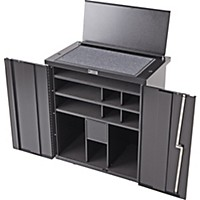 Humes & Berg Mobile Percussion Cabinets Pc300 32.5 X 20 X 35 In.