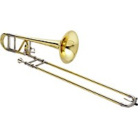 Xo 1236 Professional Series F-Attachment Trombone 1236L-O Lacquer Standard Valve And Yellow Brass Bell