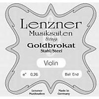 Goldbrokat Violin Strings E, 27 Ga Ball End