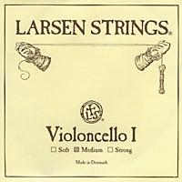 Larsen Strings Chromesteel Series Cello Strings D, Chromesteel, Strong