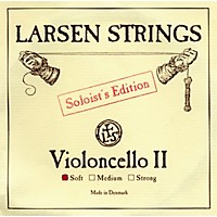 Larsen Strings Soloist Series Cello Strings D, Soloist, Soft