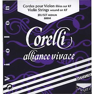 Corelli Alliance-Vivace Violin Strings E String Loop 4/4 Size