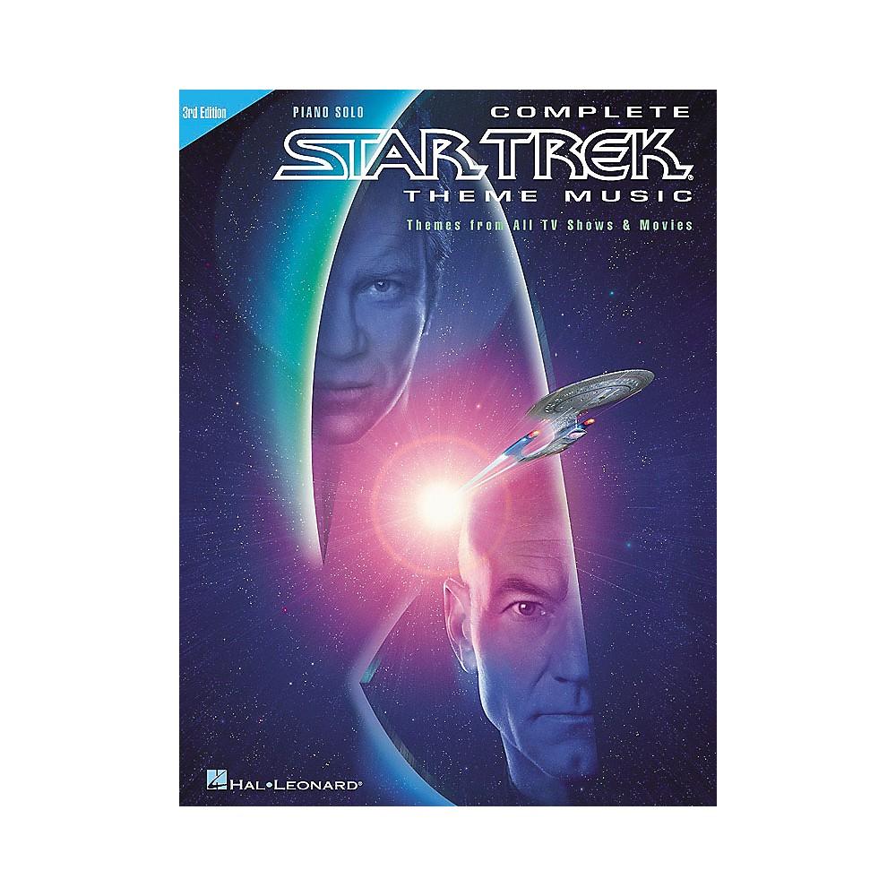 Hal Leonard Complete Star Trek Theme Music 1274034473909