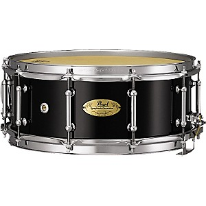 Pearl Concert Series Snare Drum 14 X 6.5 In. Piano Black