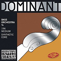 Thomastik Dominant Bass Strings Set, Medium, Orchestral 3/4 Size