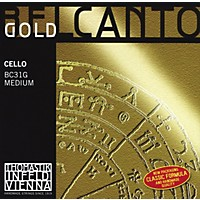 Thomastik Belcanto Cello Strings 4/4 Size G String Gold