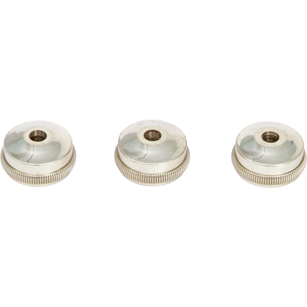 Bach Heavy Bottom Valve Caps for Trumpet Gold-Plated - Set Of Three 1274115059242
