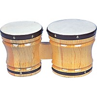 Rhythm Band Bongos Large 6-1/2 In. H X 5-1/2 In.