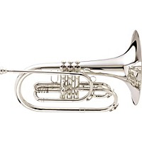 King 1121 Ultimate Series Marching F Mellophone 1121Sp Silver