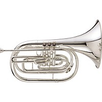 King 1122 Ultimate Series Marching Bb French Horn 1122Sp Silver