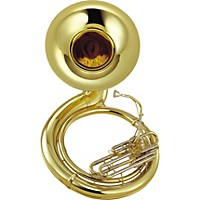 Yamaha Ysh-411 Series Brass Bbb Sousaphone Ysh411 Lacquer Instrument Only