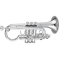 Getzen 3892 Custom Series Eb Cornet Silver