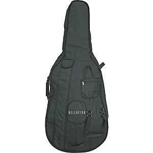 Bellafina Deluxe Cello Bag Black 4/4 Size