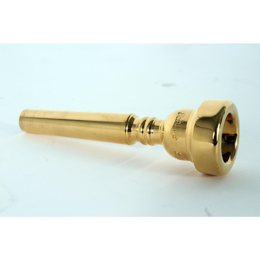 Schilke Symphony M Series Trumpet Mouthpieces In Gold M2, Gold 190839058034 475205005974001