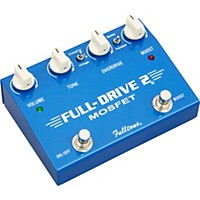 Fulltone Fulldrive2 Mosfet Overdrive/Clean Boost Guitar Effects Pedal Blue