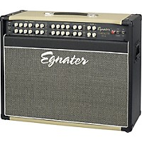 Egnater Tourmaster Series 4212 All-Tube Guitar Combo Amp Black, Beige