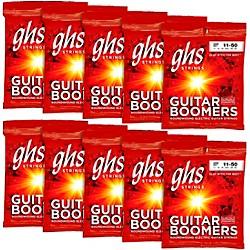 Ghs Boomers Medium Electric Guitar Strings 10-Pack