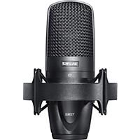 Shure Sm27 Large Diaphragm Condenser Microphone & Case Shockmount & Bag