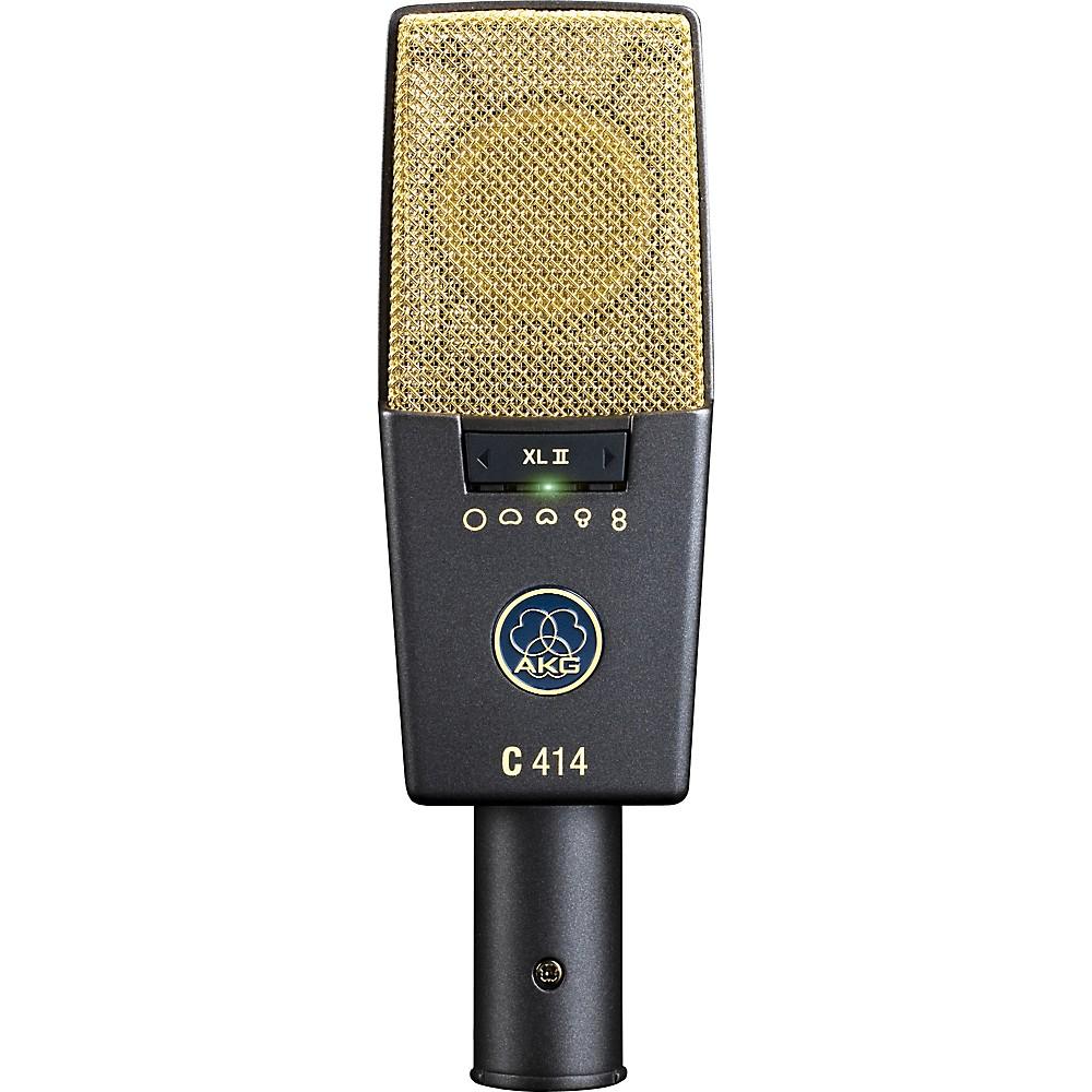4. AKG C414 XLII Large Diaphragm Condenser Microphone