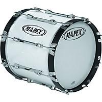 Mapex Qualifier Bass Drum Snow White 22 X 14 Inch